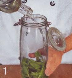 Настойка на листьях хрена - Шаг 1