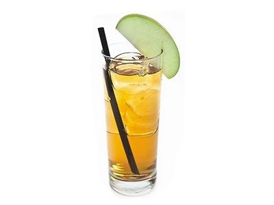 Рецепт коктейля «Яблочный Джек (Apple Jack)»