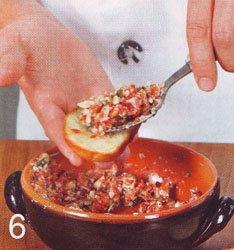 Брушетты с сыром и мидиями - Шаг 6