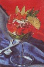Салат-коктейль с рыбой