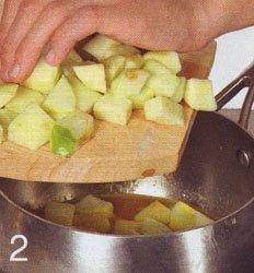 Свиной шницель с яблочным соусом - Шаг 2