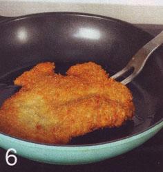 Свиной шницель с яблочным соусом - Шаг 6