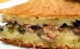 Пирог ржаной со свининой