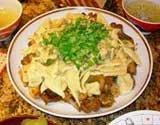 Каурма хингал (Мясо с гарниром)