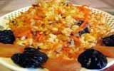 Чров плав (Плов с сушеными фруктами)