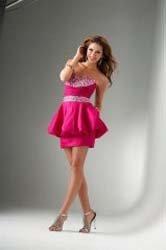 Платья для выпускного в виде короткой юбки