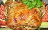 Тутырлган-таук (Фаршированная курица)