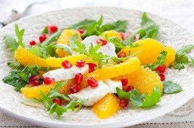 Рецепт приготовления апельсинового салата