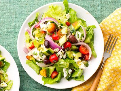 Греческий салат - шедевр греческой кухни