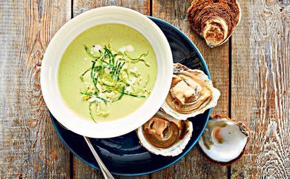 Рецепт приготовления супа из устриц