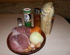 Плов со свининой ингредиенты