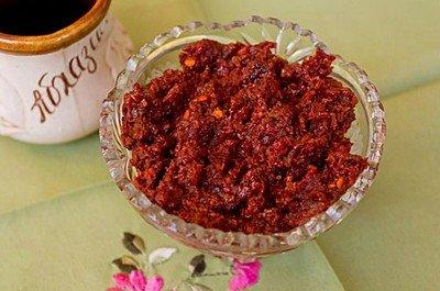 Рецепт приготовления классической аджики абхазской