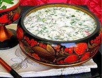 Холодные супы в русской кухне
