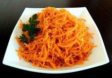 Морковь по-корейски («коре – сарам»)