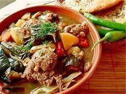 Рагу мясное с овощами по-бельгийски