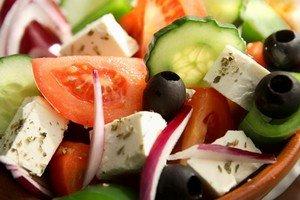 Салат деревенский по-гречески