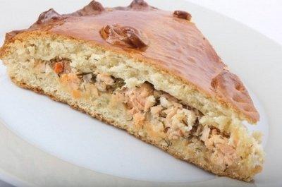пирог с осетриной рецепт