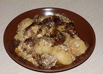 Уточка с картофелем