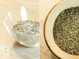Что нужно для приготовления базиликовой соли