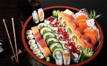 Базовые ингредиенты для приготовления суши и ролл