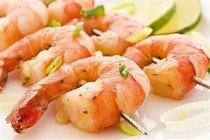 Рецепт морепродуктов на гриле