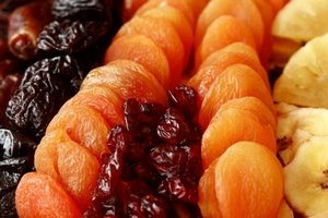 Полезные и вкусные сухофрукты
