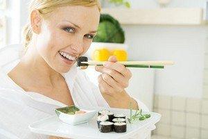 Полезная диета Роллы Суши