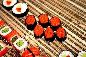 Суши - это не только безумно вкусно и полезно, но еще и неимоверно красиво