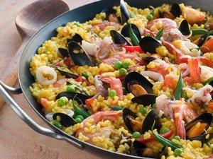 Паэлья - популярнейшее блюдо в Испании