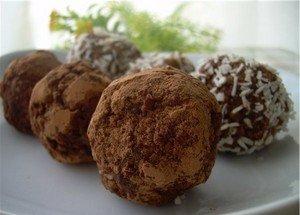 Готовим вкусные конфеты «Трюфели» из детского питания