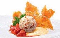 Рецепт приготовления десерта Мильфей с мороженным