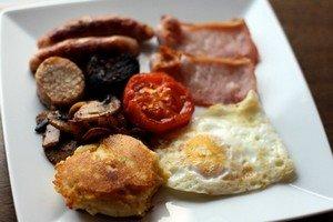 Что входит в состав традиционного ирландского завтрака
