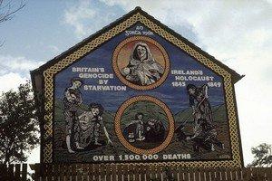 Памятник погибшим в Великий голод в Ирландии