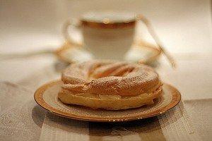 Какие нужны ингредиенты для приготовления заварного кольца со взбитыми сливками и клубникой ингредиенты