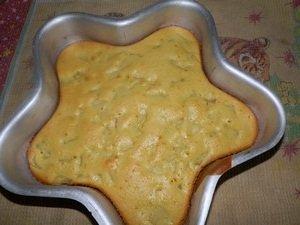 Фоторецепт приготовления десерта «Грушевая шарлотка»