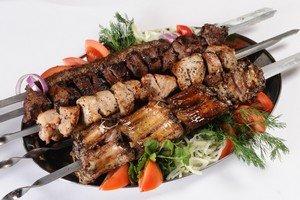Армянский шашлык ики-бир