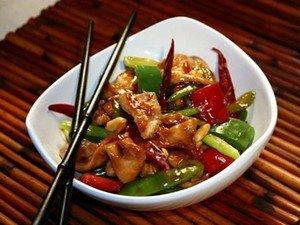 """Ингредиенты для приготовления цыпленка """"Кунг-Пао"""""""