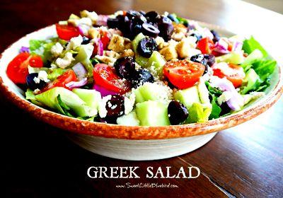 Готовим дома по фоторецепту «Греческий салат»