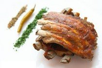 Рецепт приготовления острых свиных ребрышек и запеченной свинины