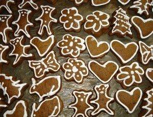 Приготовление праздничного печенья