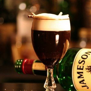 Третий способ приготовления кофе по-ирландски