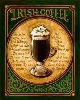 Приготовление кофе по-ирландски
