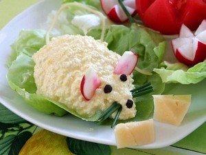 """Способ приготовления закуски сырной """"Мышки"""""""