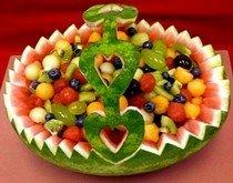 Рецепт салата с фруктами и медом