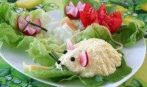 """Рецепт приготовления сырной закуски """"Мышки"""" на Новый год 2014"""