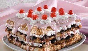 Рецепт приготовления торта «Вишневый рай»