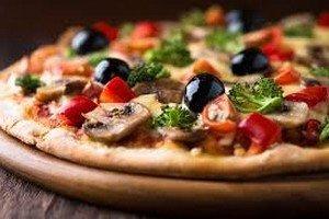 Приготовление вегетарианской пиццы