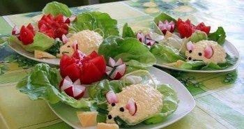 """Ингредиенты для закуски сырной """"Мышки"""""""