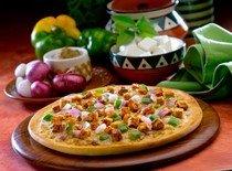 Рецепт картофельно-грибной пиццы