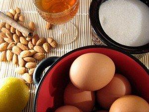 Ингредиенты для приготовления пирога Св. Иакова